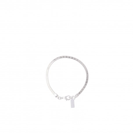 PULSERA SIMPLE VIBORA ESPEJO 3 MM